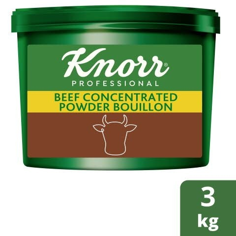Knorr® Professional Concentrated Beef Powder Bouillon 3kg