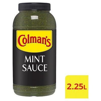 Colman's Fresh Garden Mint Sauce 2.25L -