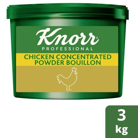 Knorr® Professional Concentrated Chicken Powder Bouillon 3kg -