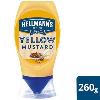 Hellmann's American Style Yellow mustard 260g -