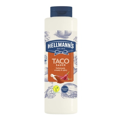 Hellmann's Taco Sauce 850ml - 73% of guests have a better impression of an establishment when it uses brands they likeⁱ