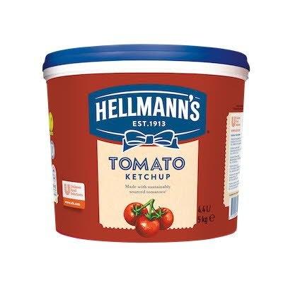 Hellmann's Tomato Ketchup Bucket 5kg -