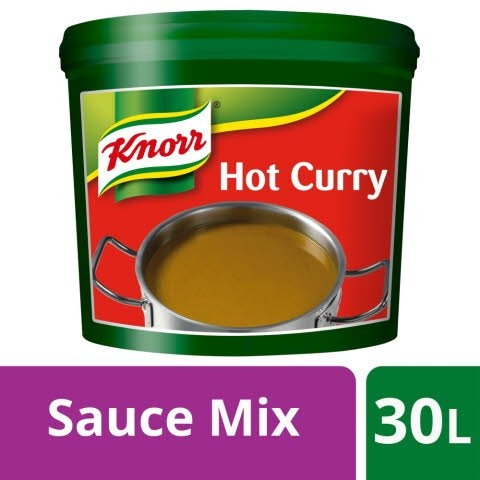 Knorr Gluten Free Hot Curry Sauce Mix 30L -