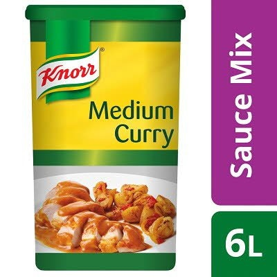 Knorr Gluten Free Medium Curry Sauce Mix 6L -