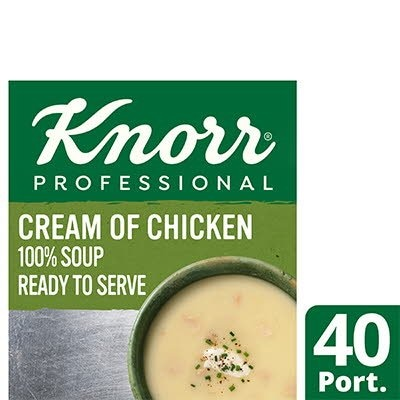Knorr Professional 100% Soup Cream of Chicken 4 x 2.5kg -