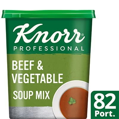 Knorr Professional Beef & Vegetable Soup 14L -