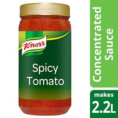 Knorr Spicy Tomato Concentrated Sauce 1.1L -